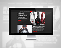 Beats Homepage Redesign