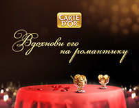 CARTE D'OR: Inspire him to romance