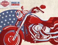 Brands Across America: Harley Davidson