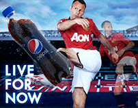 Live For More Football - Pepsi Manchester United