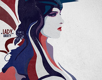 Lady Liberty Concept Poster