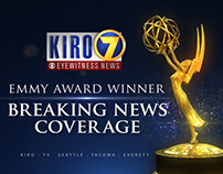 KIRO 7 Breaking News Emmy Award