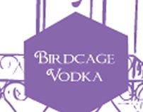 Birdcage Vodka Label