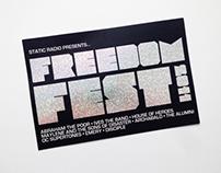 Concert Series Postcard