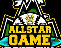 West Coast League All  Star Game Logo
