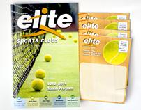 2013 Tennis Brochure