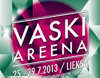 Vaski Areena 2012-2013