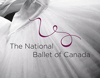 The National Ballet of Canada Identity Concept
