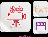 Media Icon Vector Set