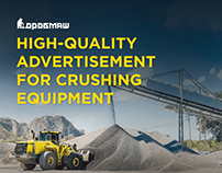 High-quality advertisement for crushing equipment