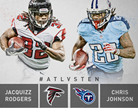 2013 Atlanta Falcons Matchup Graphics