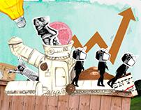 Consumerism Collage