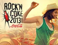 Rock'n Coke 2013 Posters