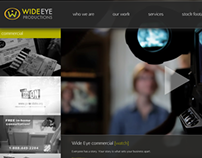 Wide Eye Productions Website