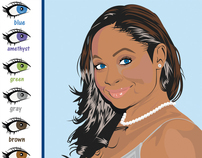 Vector - Celeb Prod. Ad - Raven Symone Fresh Look