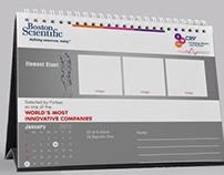 Boston Scientific - Desktop Calendar
