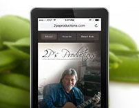 Brand and Website Design for 2psproductions.com