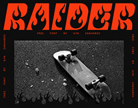 RAIDER Free Typeface
