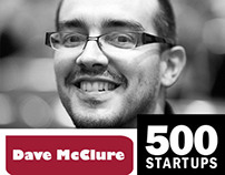 Dave McClure, founder @500Startups [Infographic]