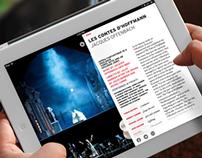 Opéra National de Paris - iPad App