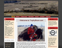 B and B Trophy Bison Web Site