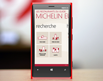 Michelin Guide Restaurants - Windows Phone