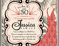 Roaring Twenties Invitations