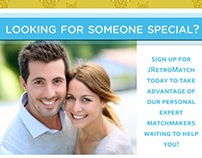 Advertisements for Online dating sites