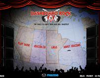 MAZDA DASHBOARD ROCK