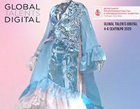 3d Clo transperensy dress 2020