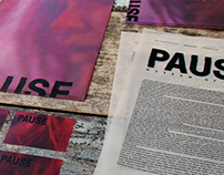 Branding of PAUSE, a Museum of Film