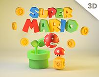Mario Bros | 3D