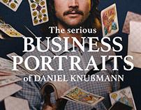 SERIOUS BUSINESS PORTRAITS