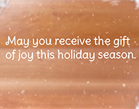 Holiday e-card