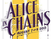 Alice in Chains at the Ryman Auditorium