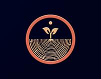 Логотип и айдентика для деревообработки