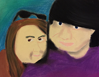 Self Portrait - Chalk Pastel