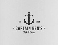 Captain Ben's Logo