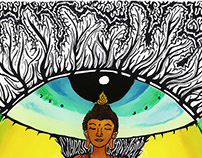 Buddha psychedelic