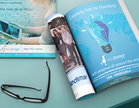 Print Ads for Blue Footed Agency