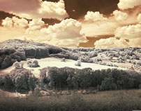 Hohenlohe in Infrared