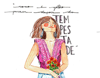 Mulheres & flores