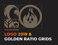 Logo Portfolio 2019 And Golden Ratio Grids