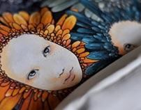 Floral Backpack Design