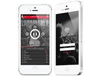 Heartbeat | Music Player iOS7
