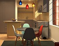 MANHATTAN Apartment Renovation Renderings