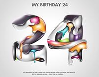 MY BIRTHDAY 24