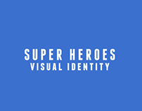 SuperHeroes Visual Id.