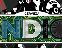 """Cerveza Indio """"Geek"""""""
