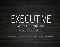 Executive Wood Furniture Web & eBlast Campaign
